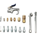 Campbell Hausfeld MP2847 17-pc 1/4-in Air Tool And Accessory Kit