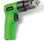 Kawasaki 840775 Reversible Air Drill Composite, 3/8-Inch